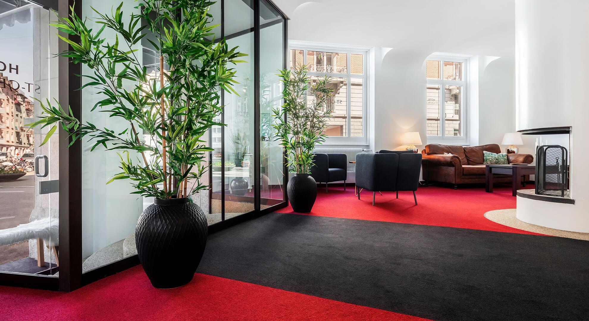 hagedorn & partner gmbh – Referenzobjekt: Hotel St. Georges, Zürich – Teppicherneuerung